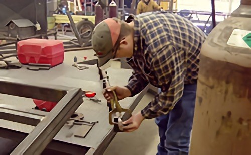 Tulsa Welding School High School Welding Competition