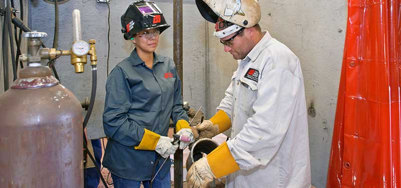 Welding Specialist Program with Pipefitting Classes | Tulsa