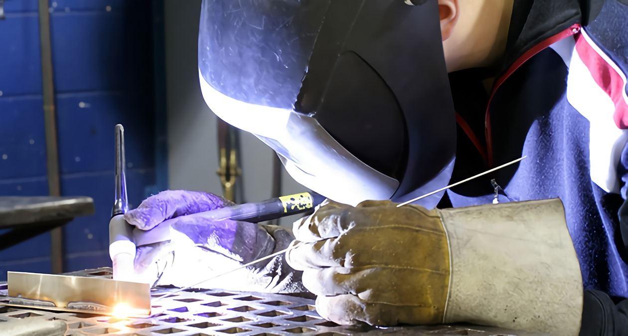 tungsten welding training