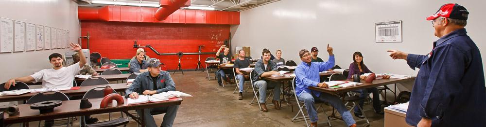 Welding Classes at Tulsa Welding School