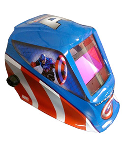 captain america welding mask