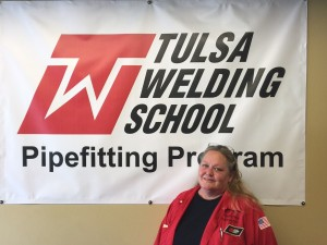Penny Petree - Tulsa Welding School Pipefitting Instructor