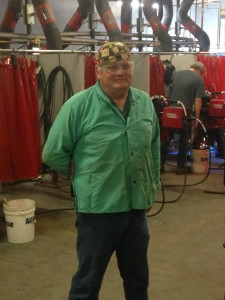 Tulsa Welding School & Technology Center - Welding Instructor Tom Brashear