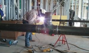 Rodney pipe welding