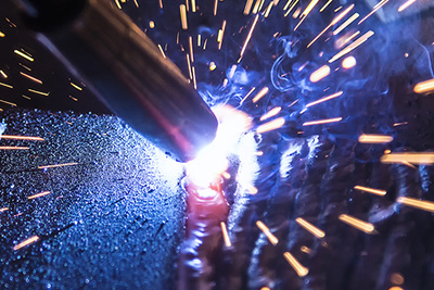 mixing welding consumables