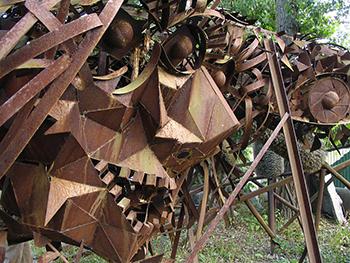 rustic welding sculptures