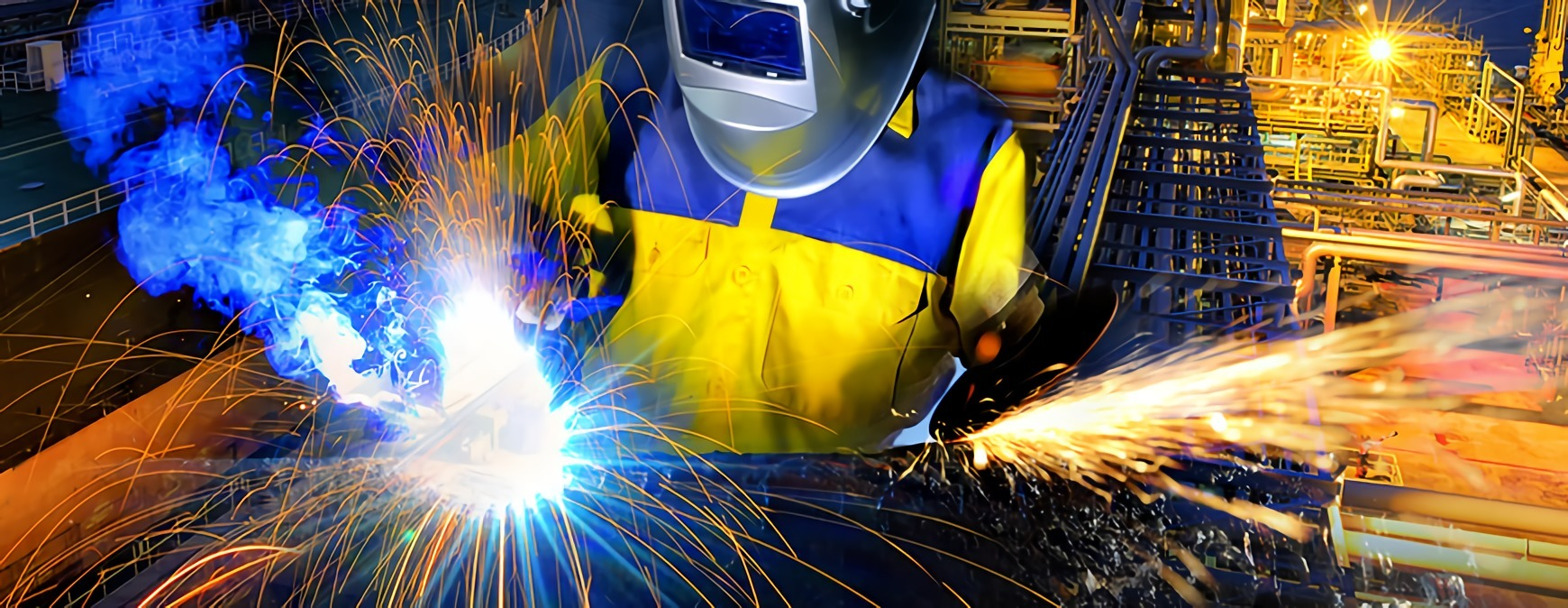 welder in industry