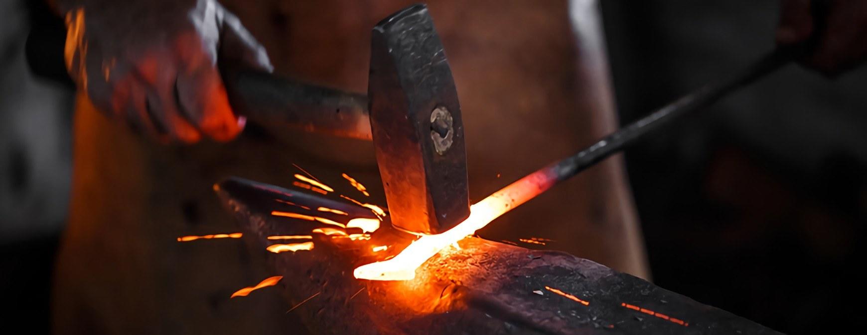 blacksmith iron working
