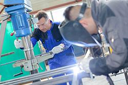 machinery welding