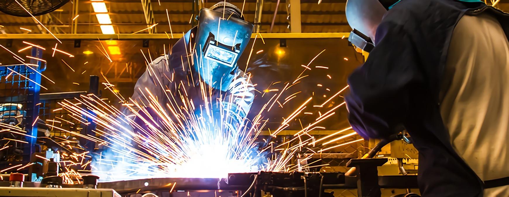 skilled welders