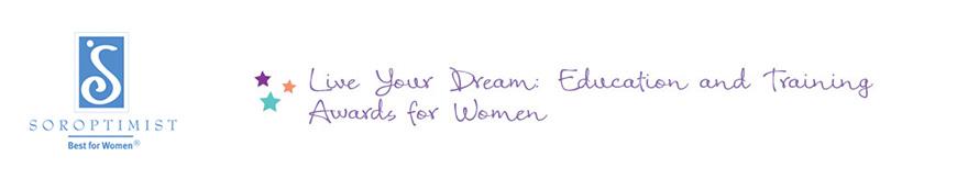 soroptimist scholarship for women