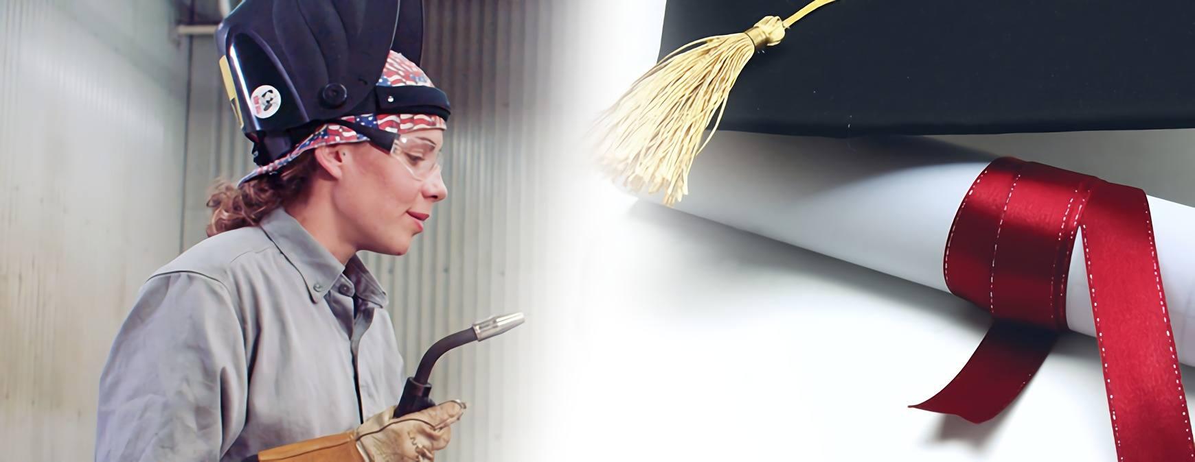 welding scholarship for women