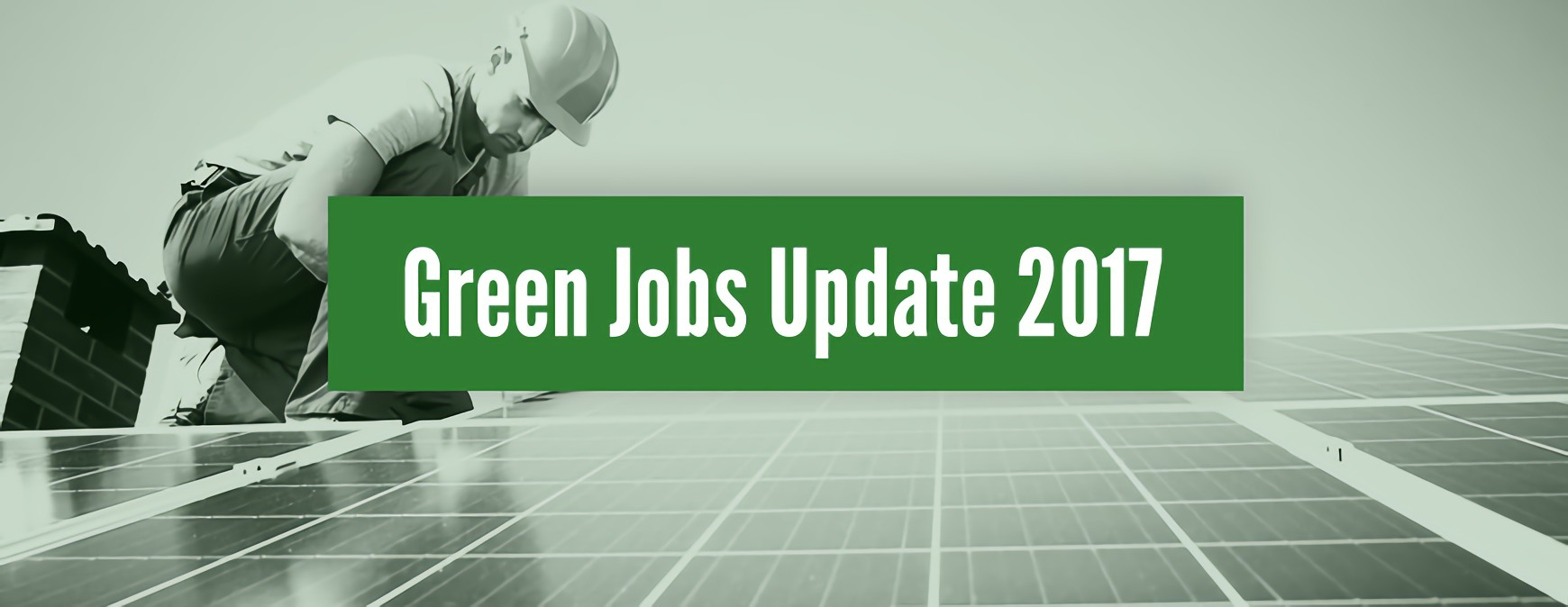 green jobs update 2017