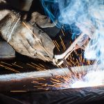 shield arc welding