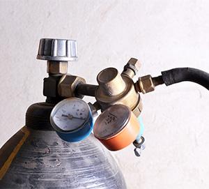 welding gas cylinder regulator