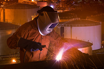 welder in texas