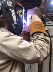 brandon perez welding hood