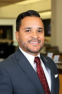 Louis Rivera director of career services
