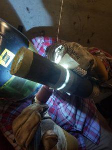 Mikael Weatherholt welding 2