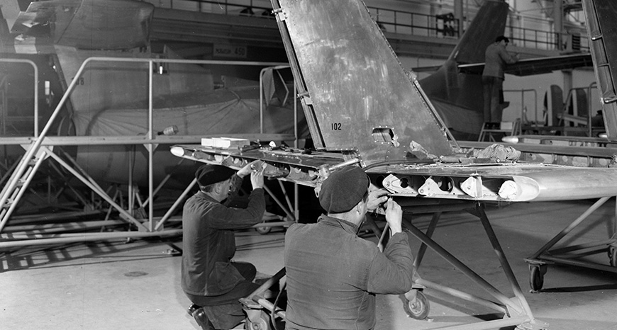 aircraft assembly