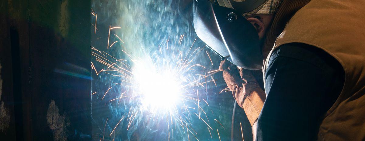 being a welder