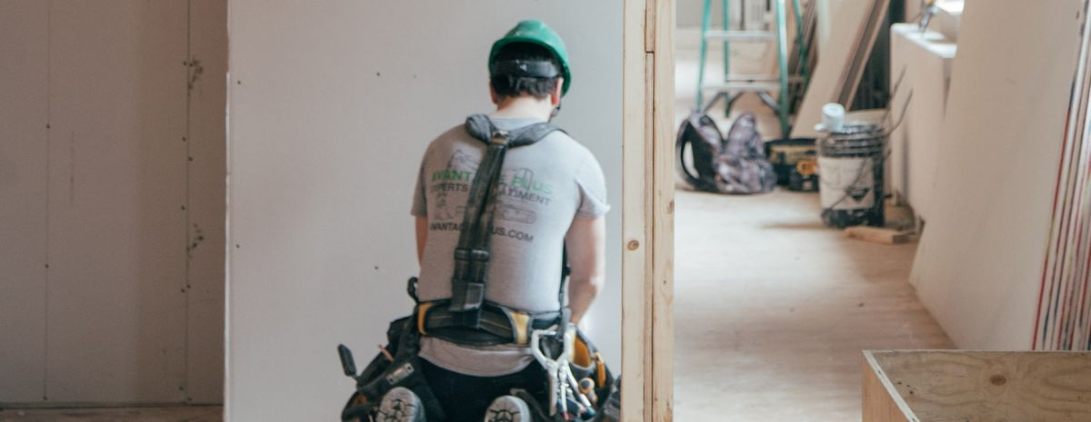 construction worker on job site
