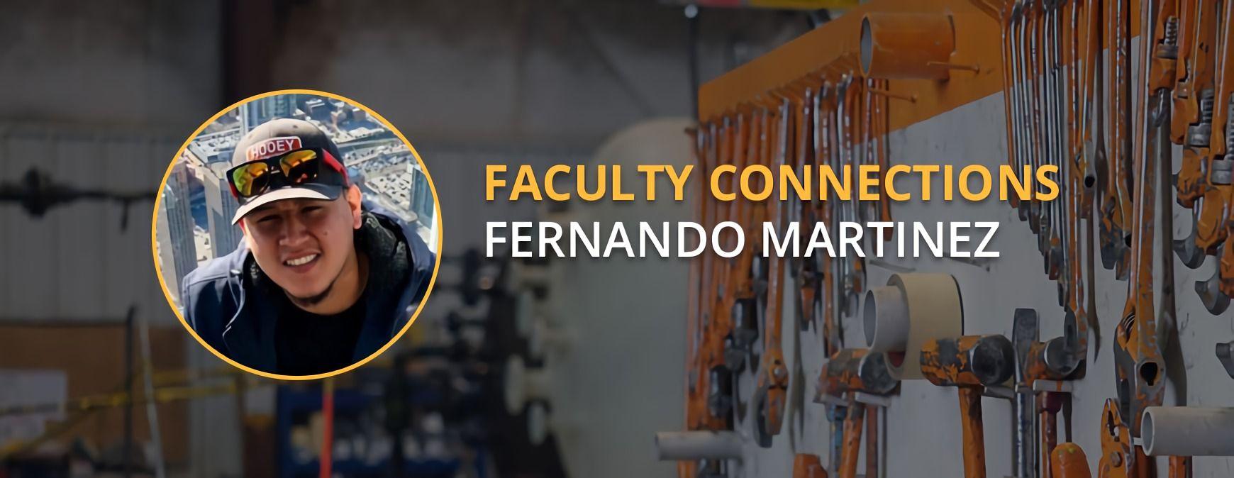 Fernando Martinez faculty connection