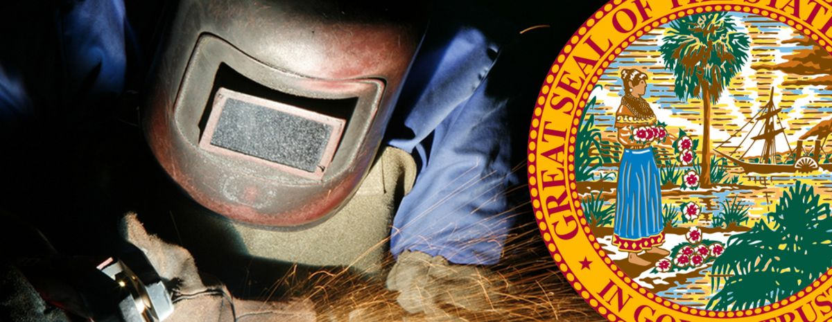 florida state seal and welder