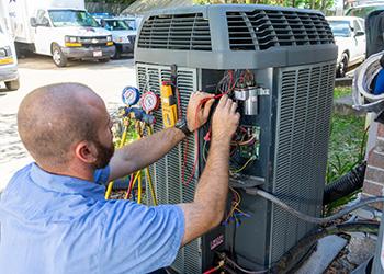hvac technician type of work