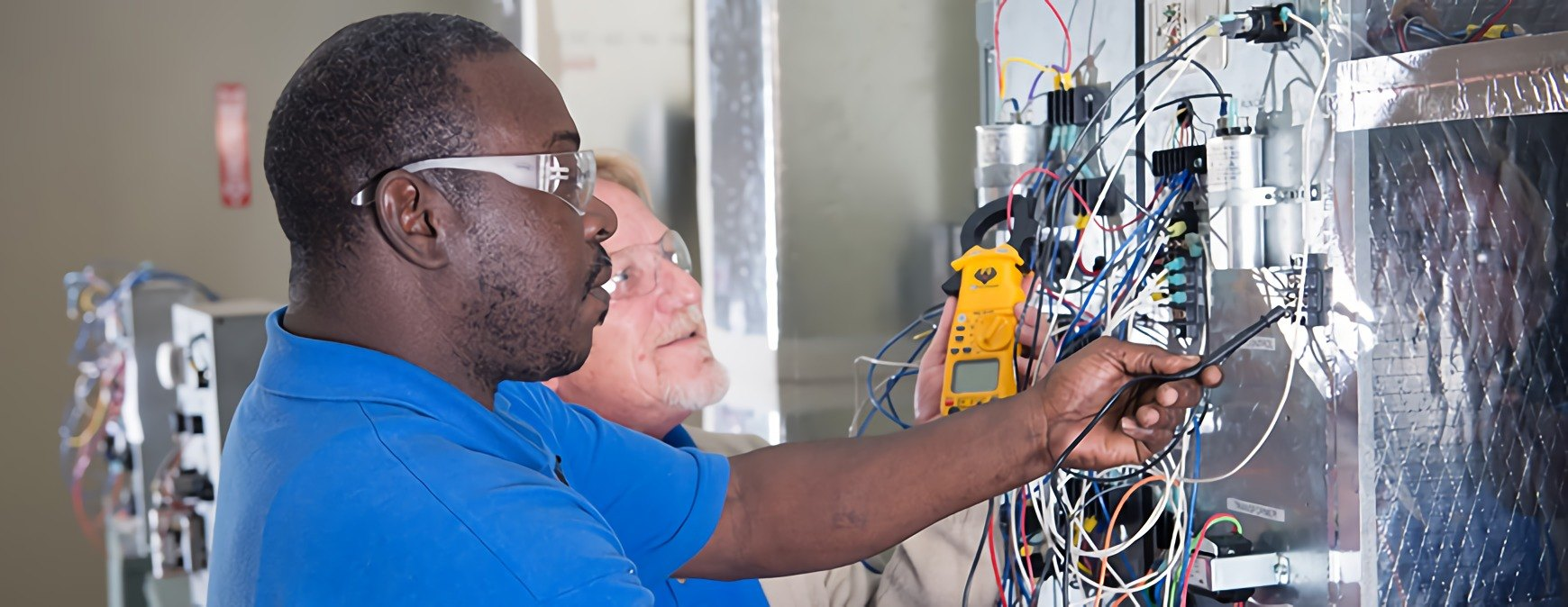 learning a skilled trade at a vocational school