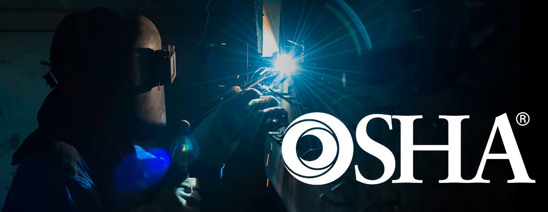 osha logo over welder