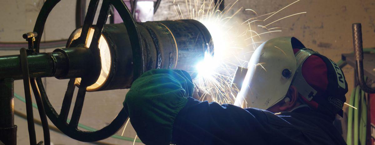 professional welding work