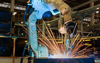 robot welding arm