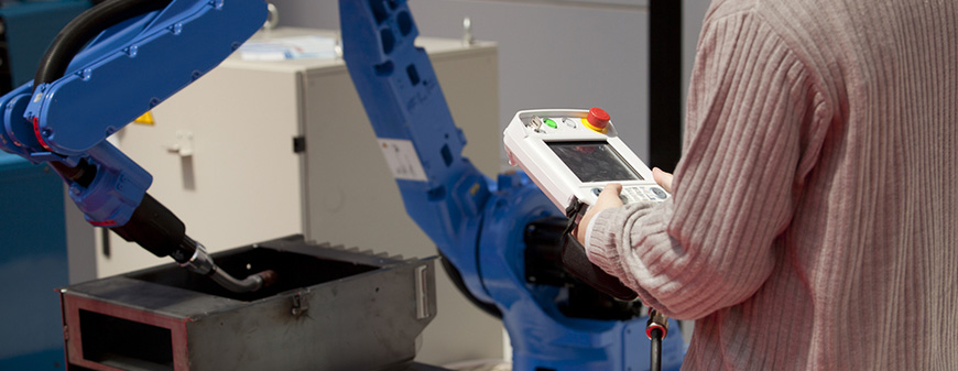 robotic arm welding