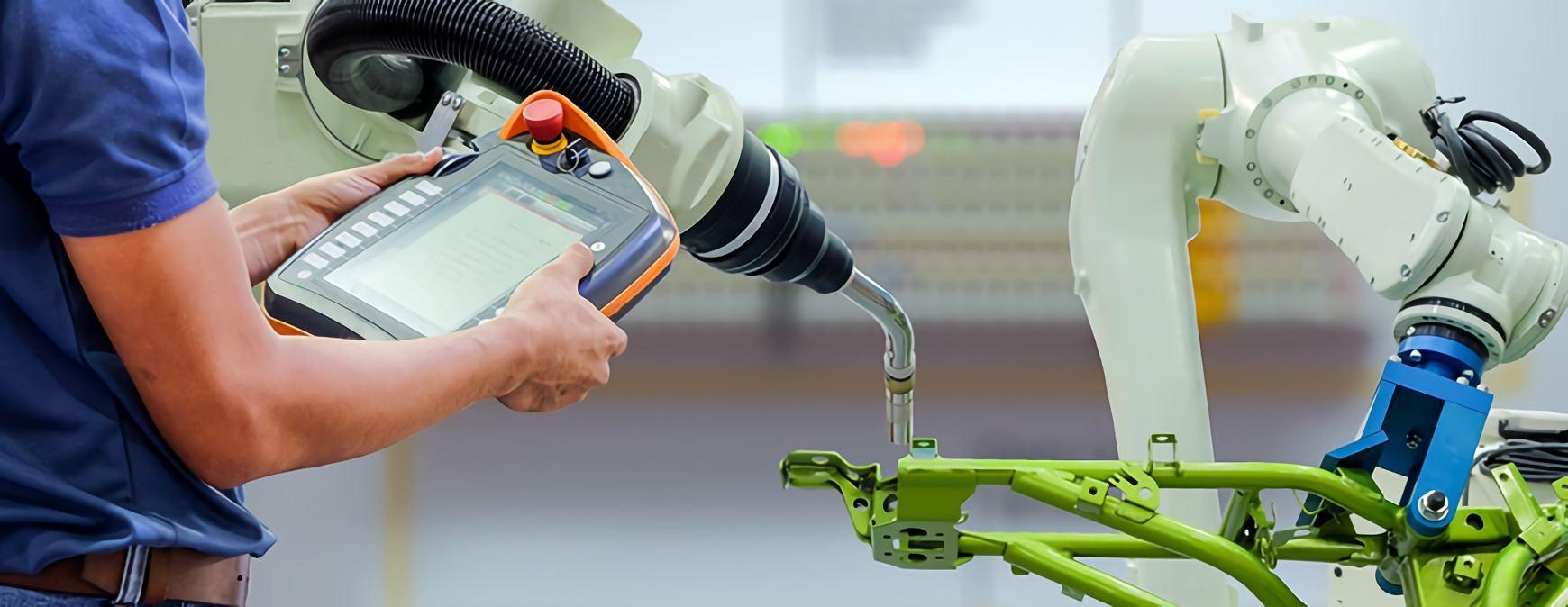 robotic welding operator