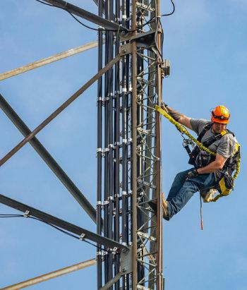 telecommunication tower welder
