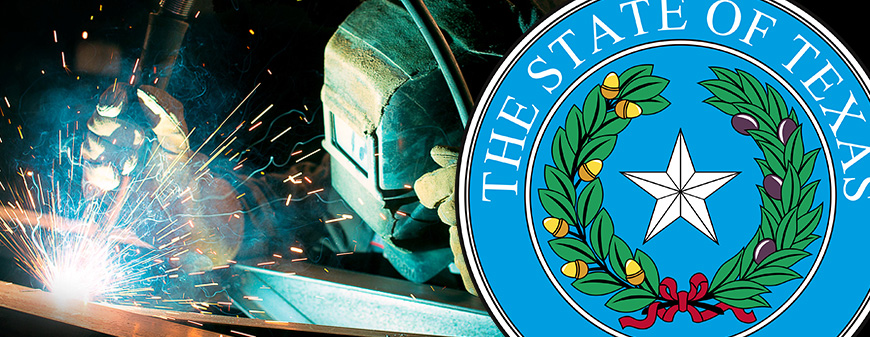 texas welding and state seal