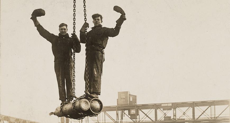 two shipbuilders