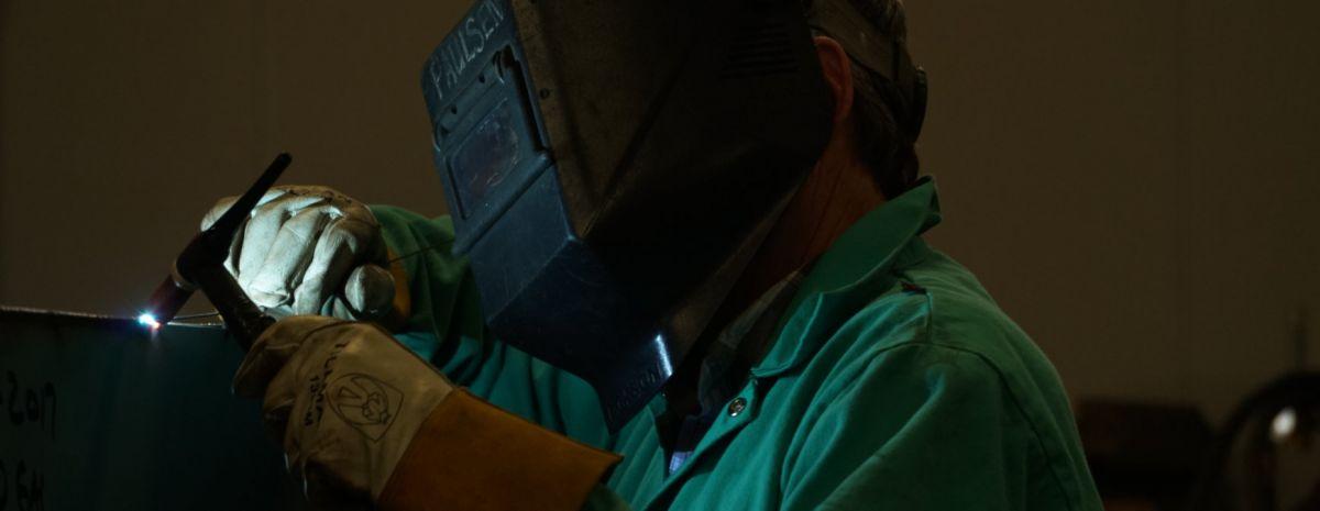 using a tig welder