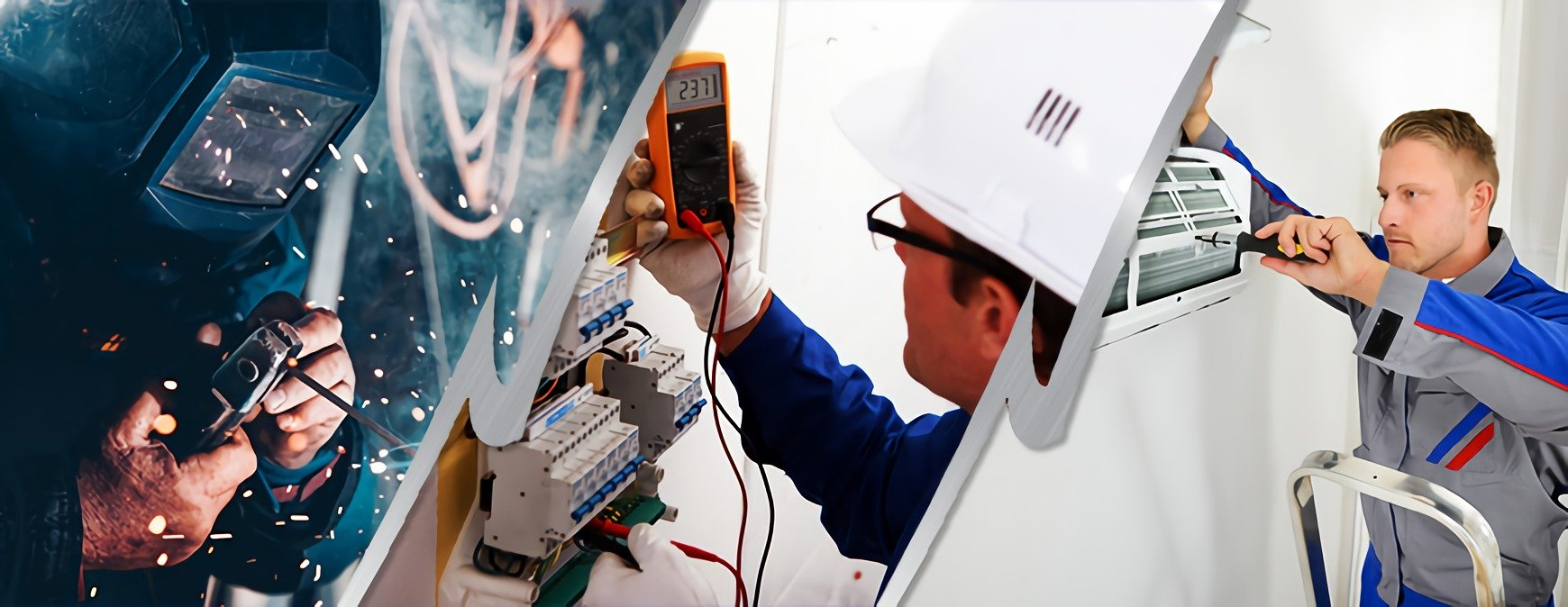 welder electrician and hvac technician