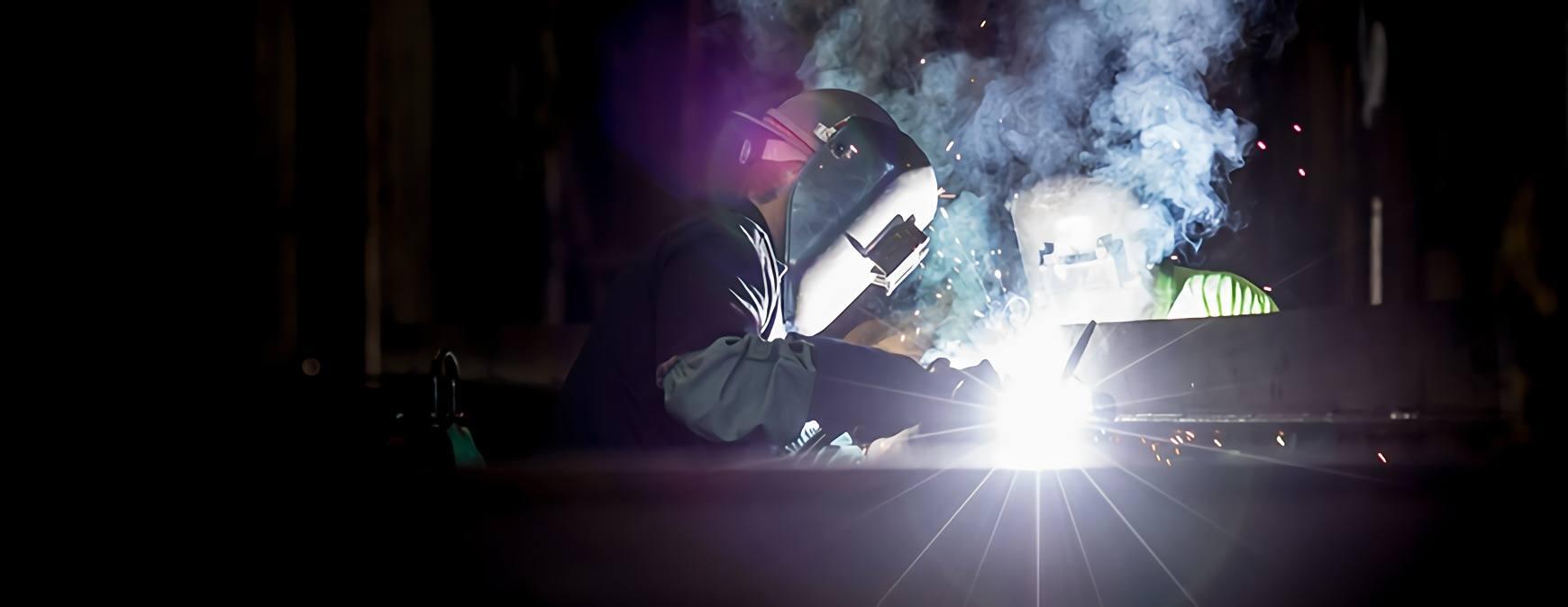 welder performing skilled job