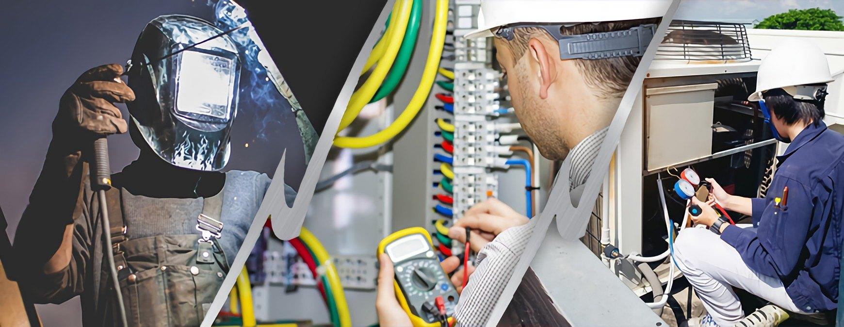 welder vs hvac technician vs electrician