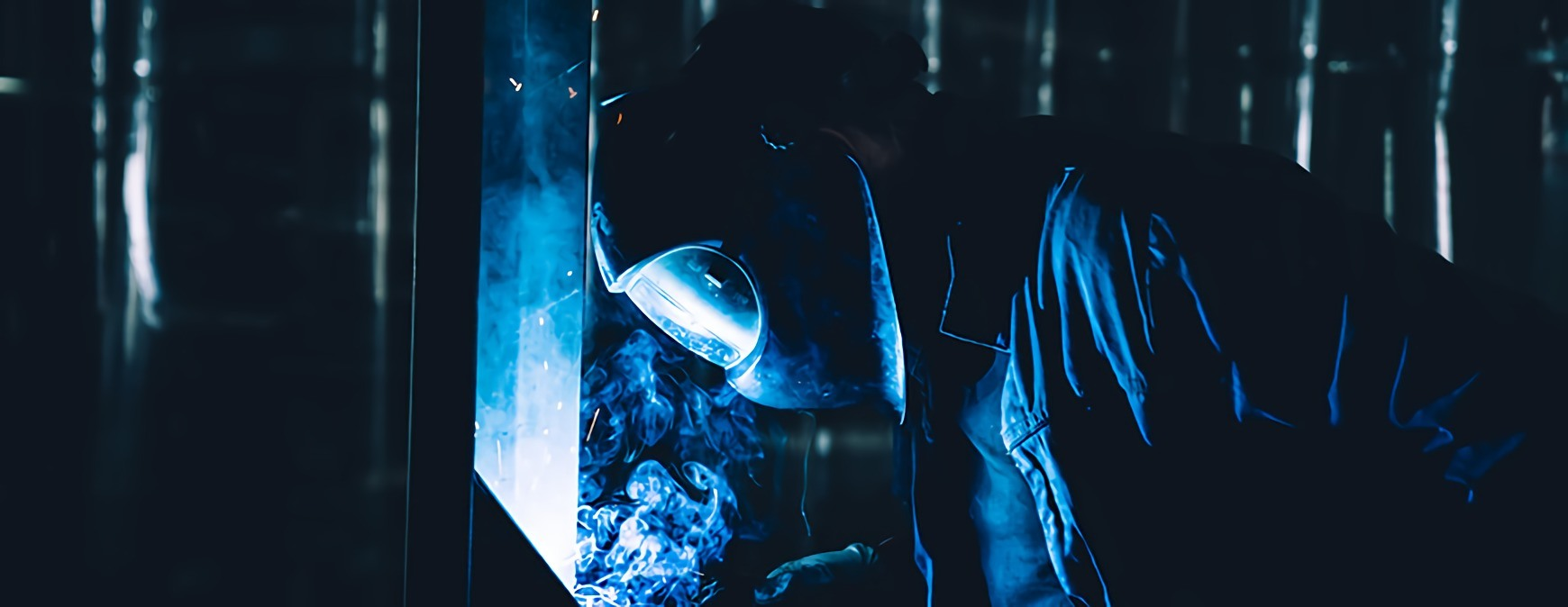 welding in the dark