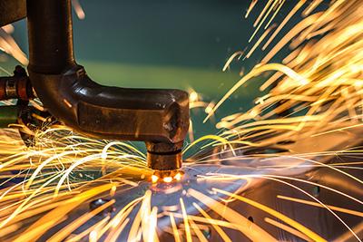 welding technology closeup