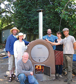 woodfire oven welding project